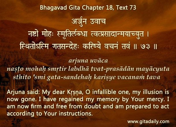 Don't just read the Gita – heed the Gita